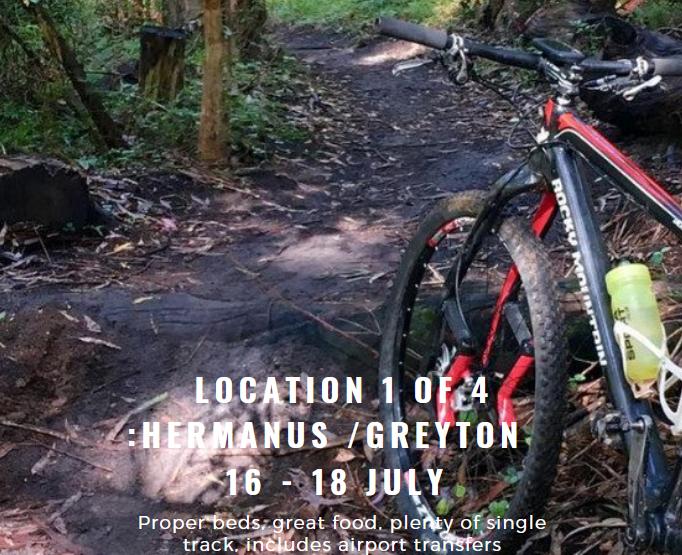 Dirty Weekends: Hermanus/Greyton 16-18 July 2021